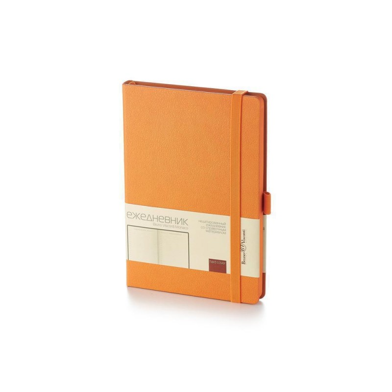 Ежедневник А5 недатированный «Monaco» оранжевый
