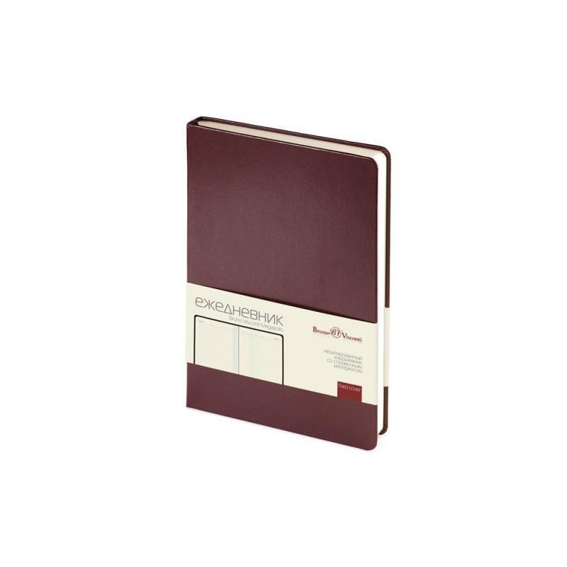 Ежедневник недатированный А5 «Megapolis» коричневый