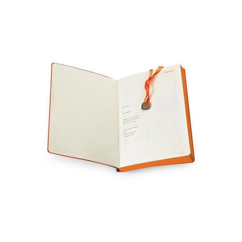 Ежедневник А5 недатированный «Mercury» оранжевый