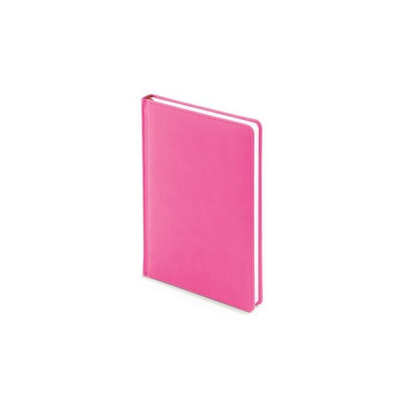 Ежедневник недатированный А5 «Velvet» розовый флуор