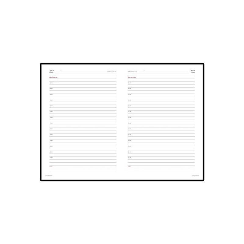 Ежедневник недатированный А5 «Ideal New» коричневый