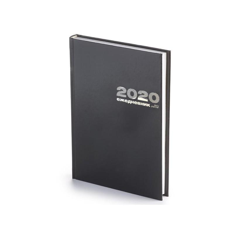 Ежедневник А5 датированный «Бумвинил» 2020 черный