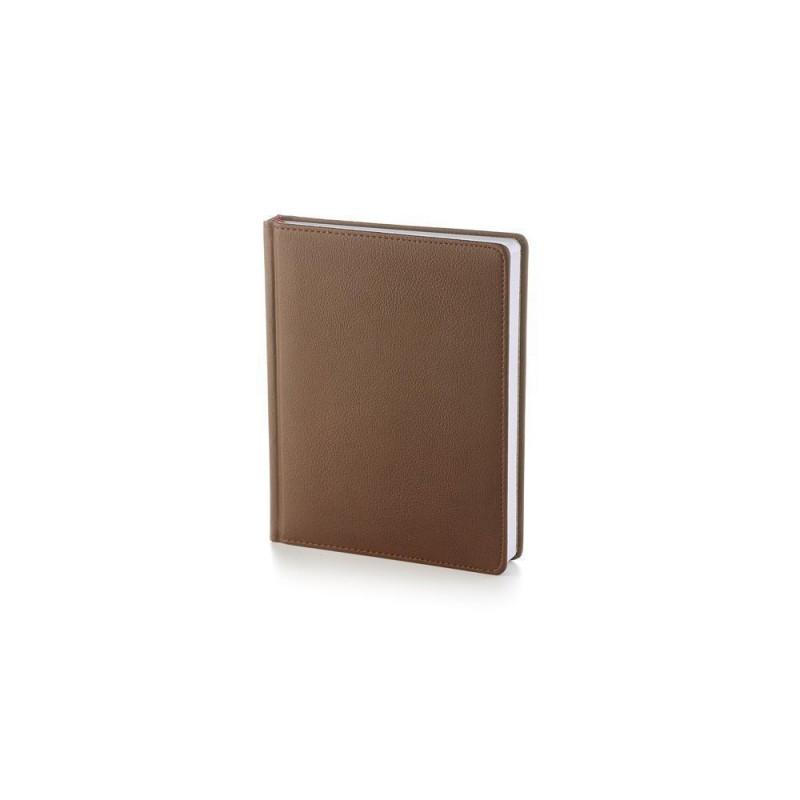 Ежедневник А6+ недатированный «Leader» коричневый