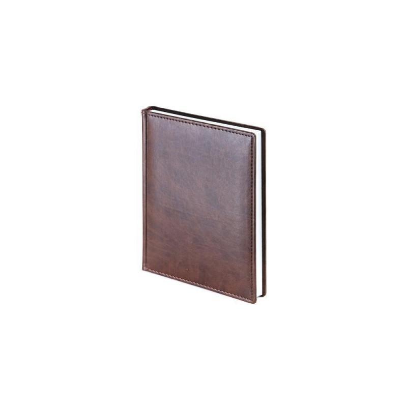 Ежедневник недатированный А6+ «Velvet» коричневый