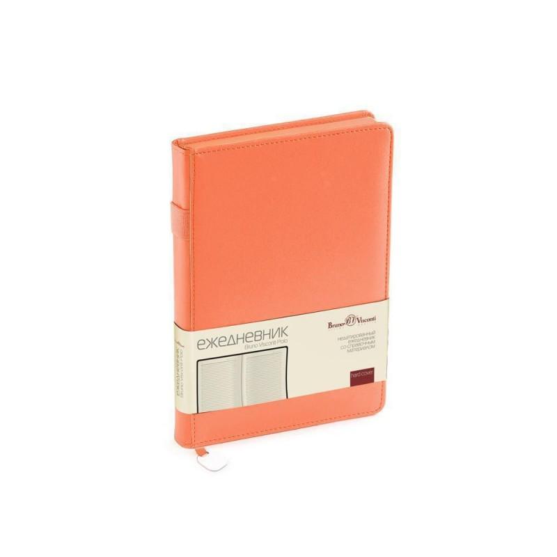Ежедневник А5 недатированный «Polo» оранжевый