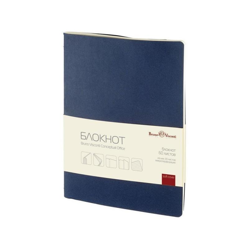 Бизнес - блокнот А4- 'Conceptual Office' синий