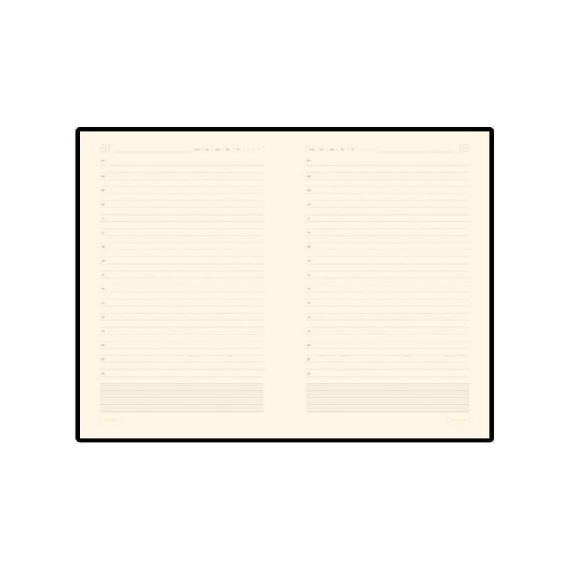Ежедневник А5 недатированный «Zenith» черный
