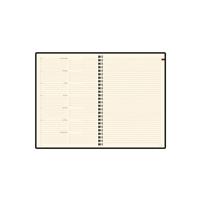 Еженедельник недатированный А5 «Concept» коричневый