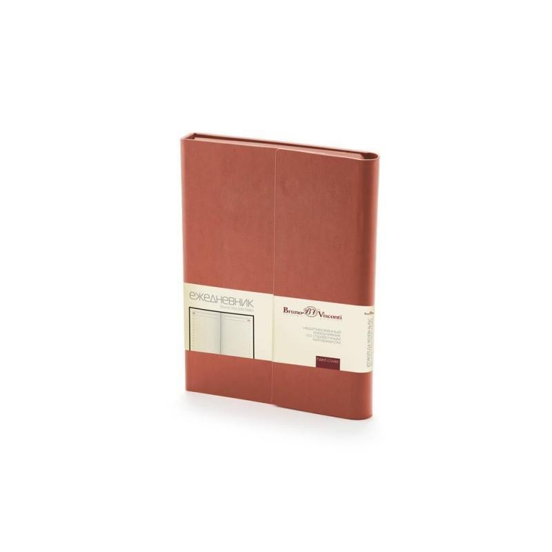 Ежедневник недатированный с магнитным клапаном А5 'WALTZ' коричневый