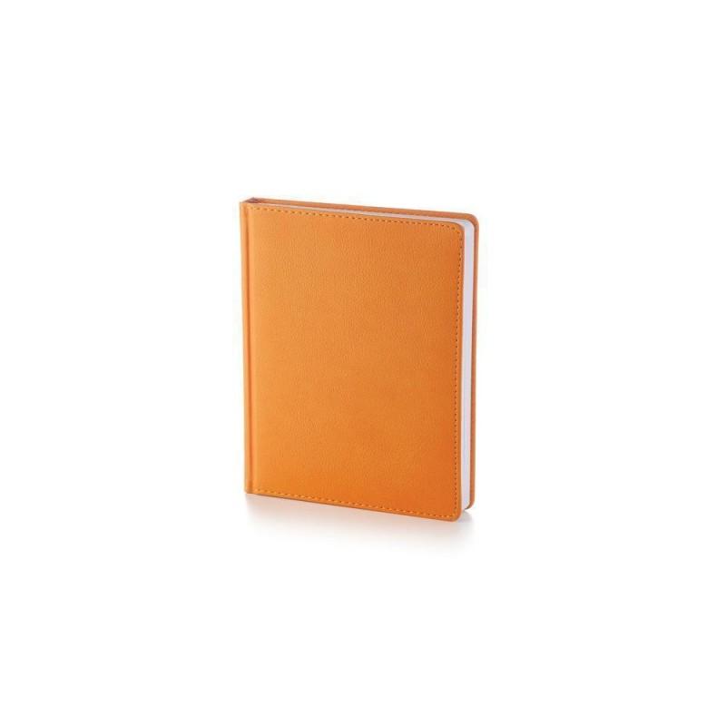 Ежедневник А6+ недатированный «Leader» оранжевый
