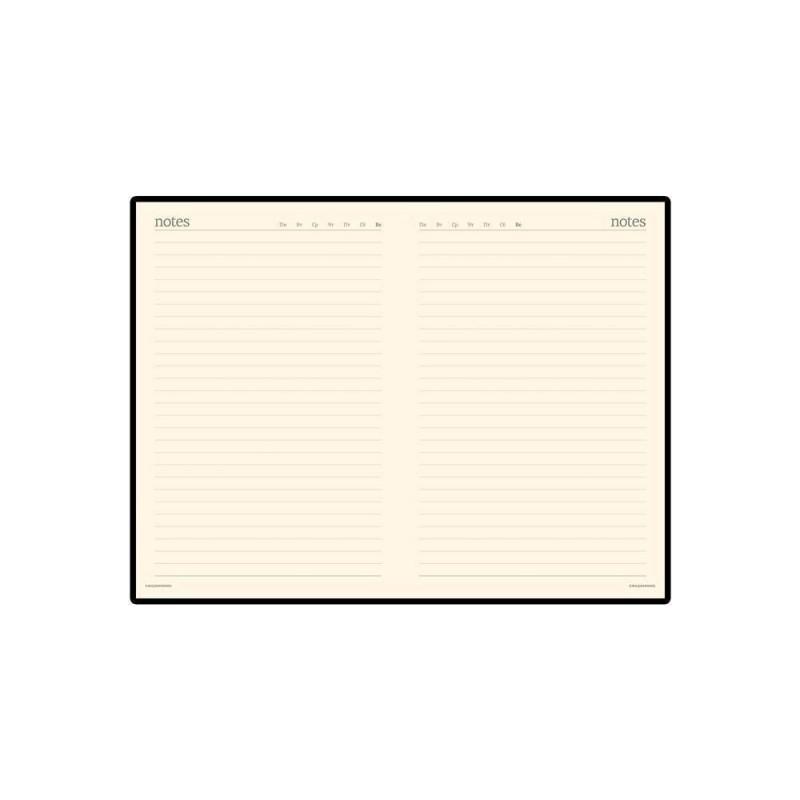 Ежедневник А5 недатированный «Megapolis Velvet» коричневый