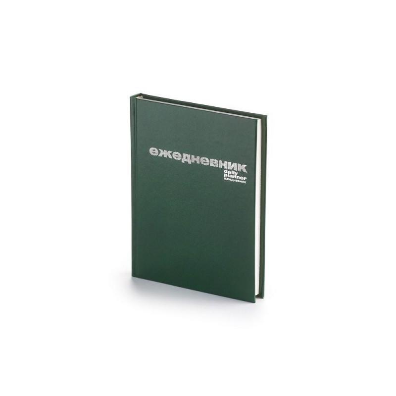 Ежедневник А6 недатированный «Бумвинил» зеленый