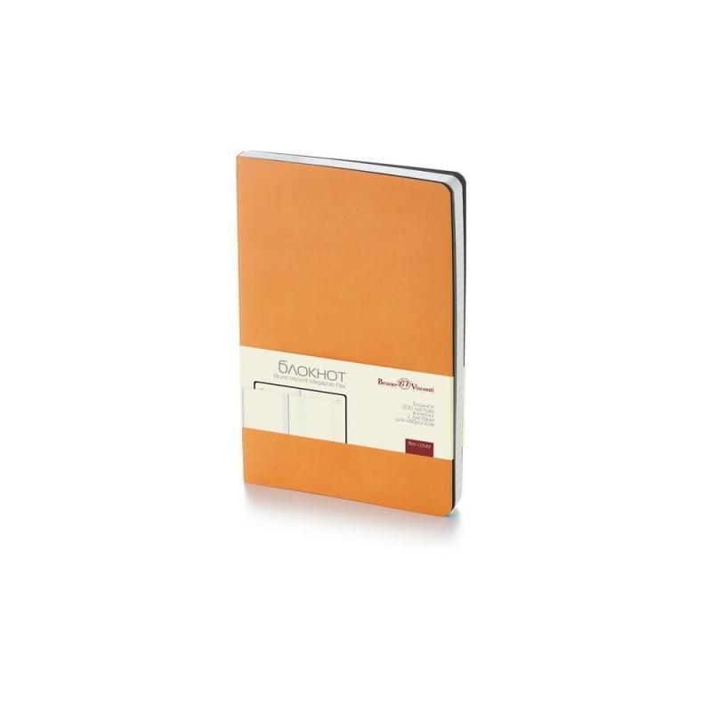 Блокнот А5 «Megapolis Flex» soft-touch оранжевый