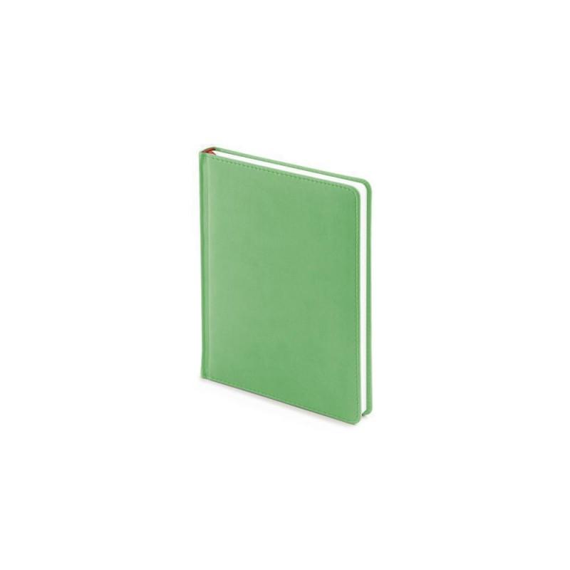 Ежедневник недатированный А6+ «Velvet» зеленый флуор
