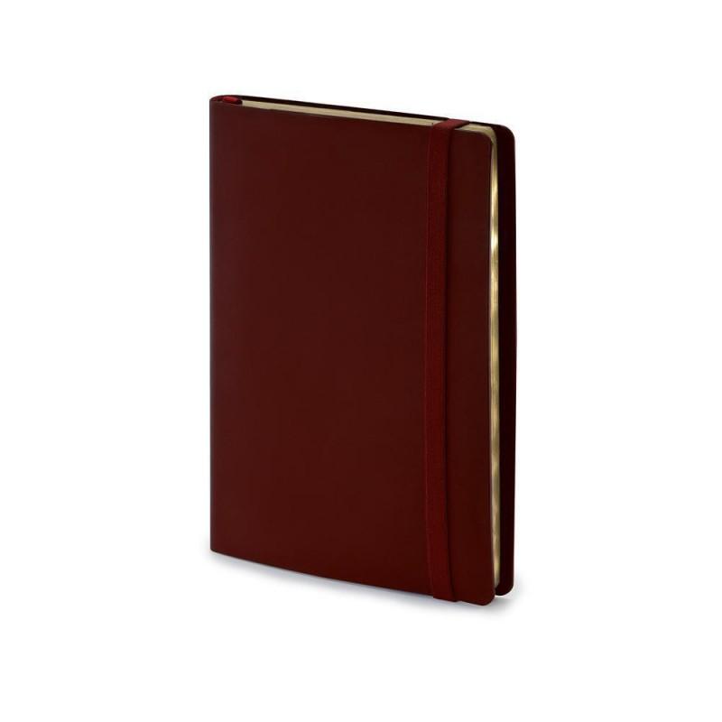 Ежедневник недатированный А5  'Oxford' бордовый