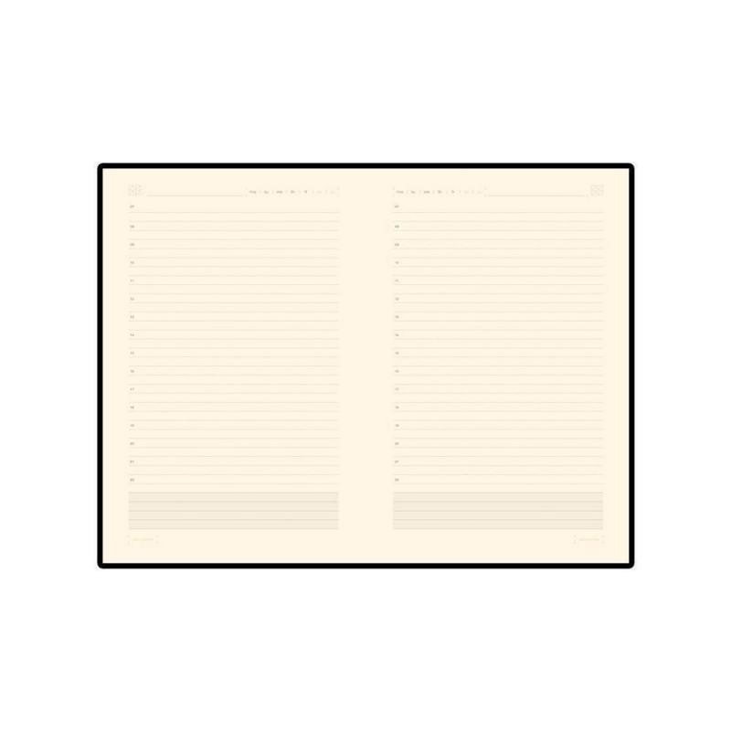 Ежедневник А5 недатированный «Zenith» бордовый