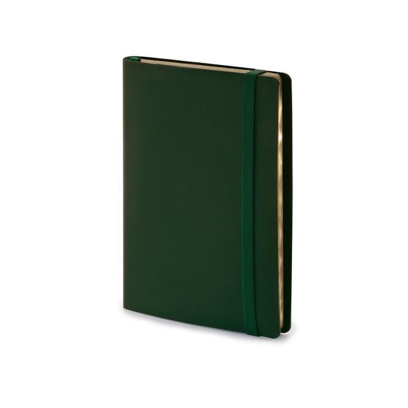 Ежедневник недатированный А5  'Oxford' зеленый
