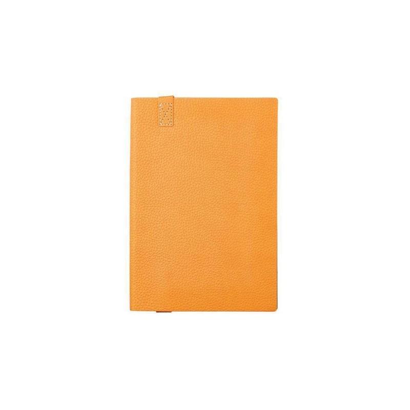Ежедневник А5 недатированный «Trend» оранжевый