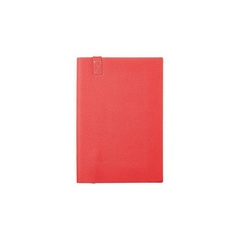 Ежедневник А5 недатированный «Trend» красный