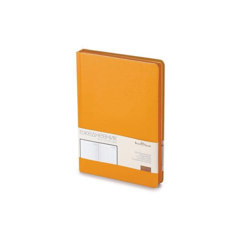 Ежедневник А5 недатированный «Citizen» оранжевый