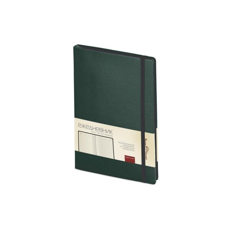 Ежедневник А5 недатированный «Megapolis Soft» зеленый