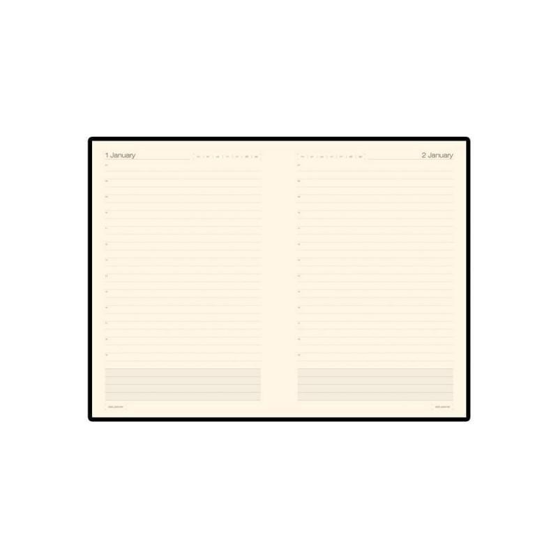 Ежедневник А5 полудатированный «Porto» коричневый