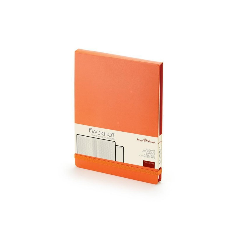 Блокнот А5 «Megapolis Reporter» оранжевый