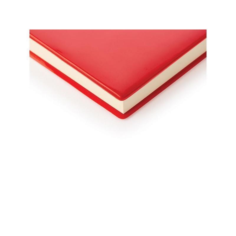 Ежедневник недатированный А5 «Glossy Pro» красный