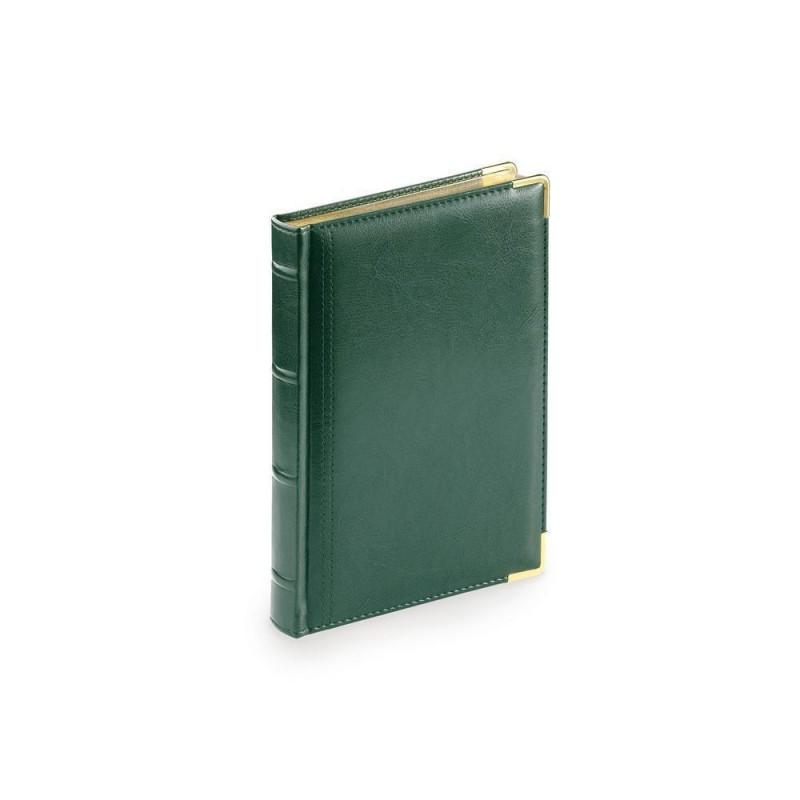 Ежедневник А5 полудатированный «Boss» зеленый