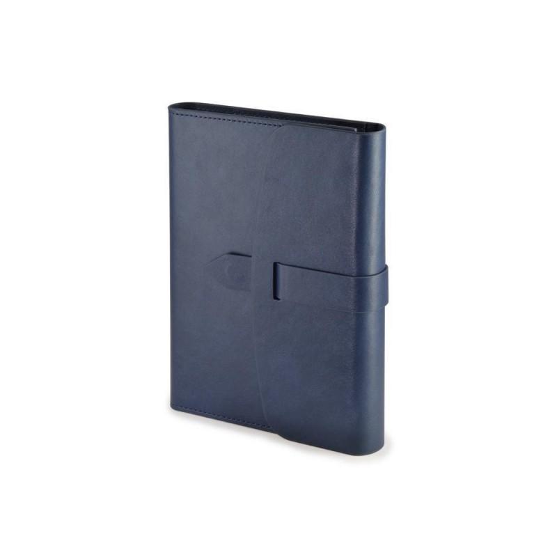 Ежедневник недатированный А5 'Senate' с магнитным клапаном синий