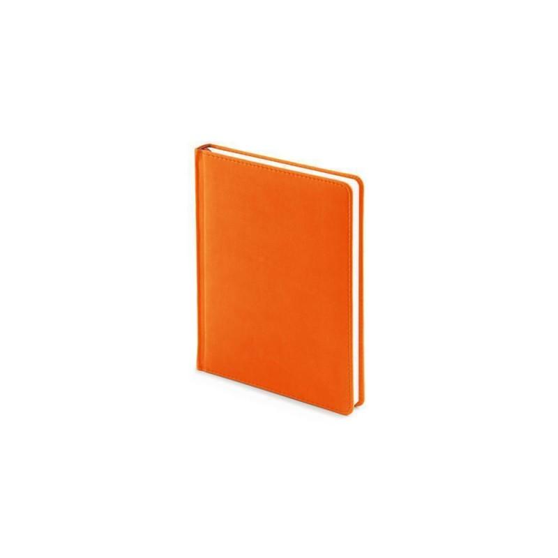 Ежедневник недатированный А6+ «Velvet» оранжевый флуор