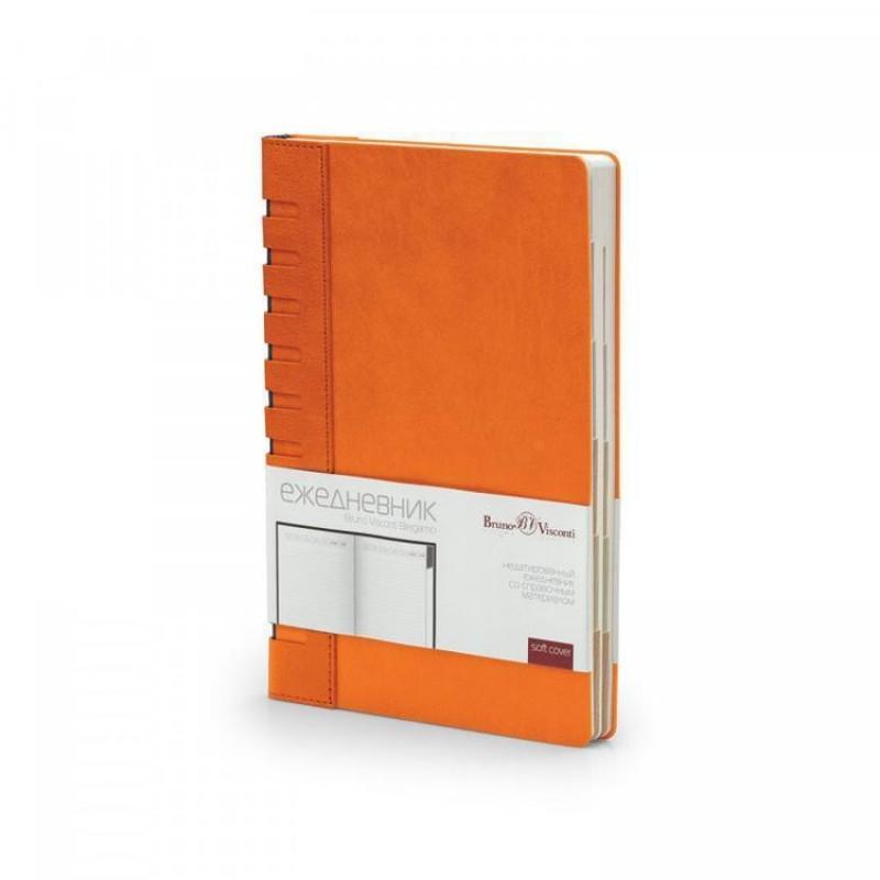 Ежедневник недатированный с индексами А5 «Bergamo» оранжевый