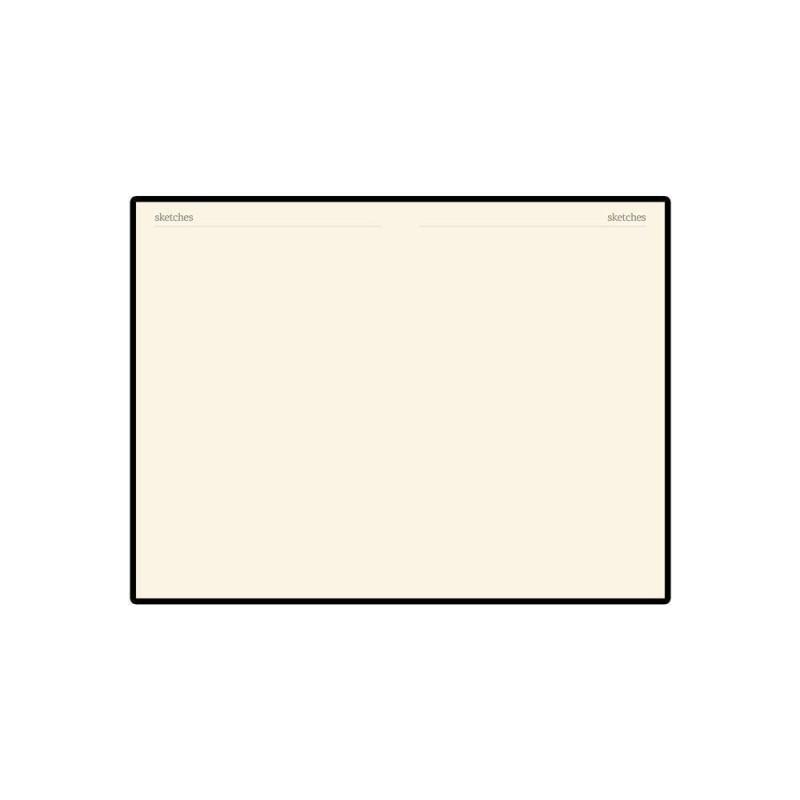 Блокнот А5 «Megapolis Velvet» на резинке белый