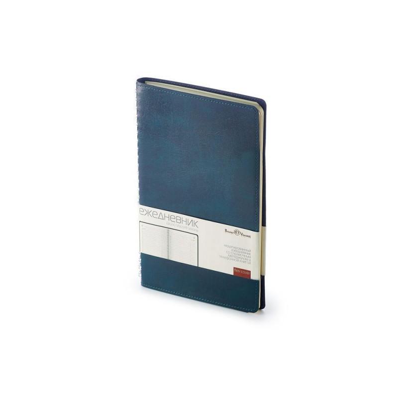 Ежедневник А5 недатированный «Verona» синий
