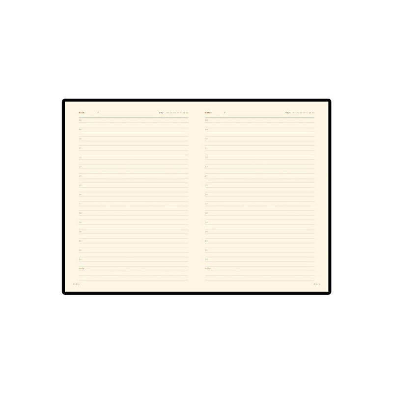 Ежедневник недатированный А5 'Parliament' темно-серый
