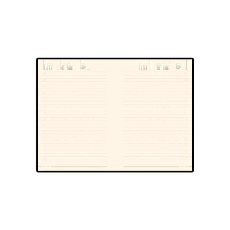 Ежедневник А5 недатированный «Megapolis Soft» коричневый