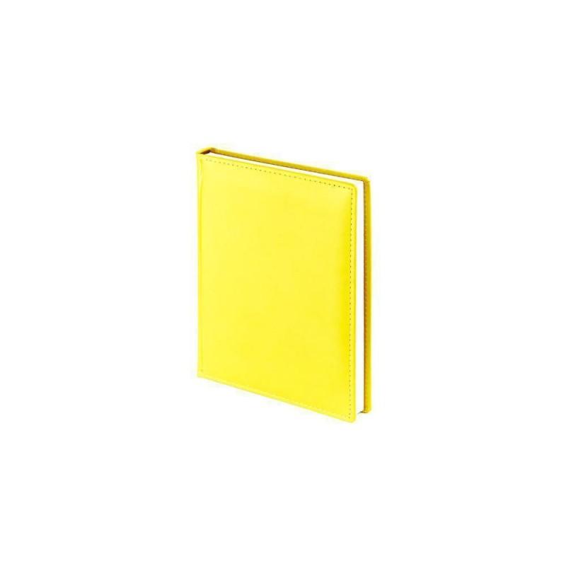 Ежедневник недатированный А6+ «Velvet» желтый