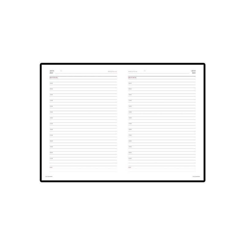 Ежедневник недатированный А5 «Sidney Nebraska» синий с золотым срезом