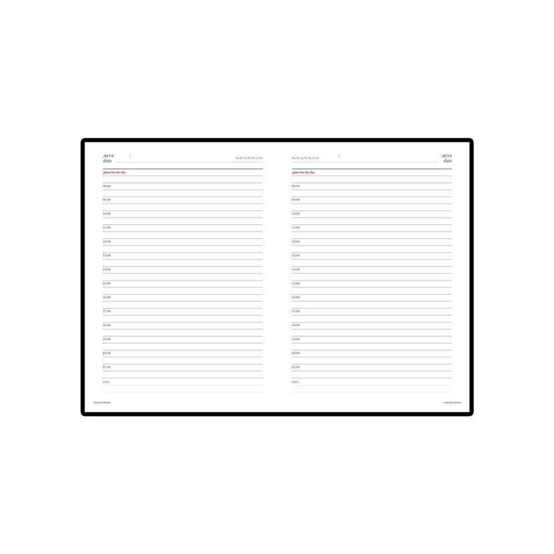 Ежедневник недатированный А6+ «Velvet» светло-серый