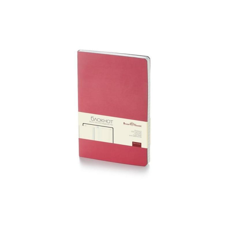 Блокнот А5 «Megapolis Flex» soft-touch красный