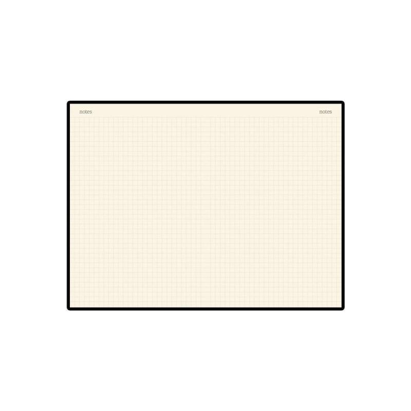 Блокнот А5 «Megapolis Velvet» на резинке серый