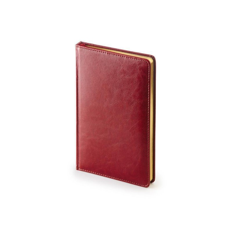 Ежедневник недатированный А4 «Sidney Nebraska» бордовый