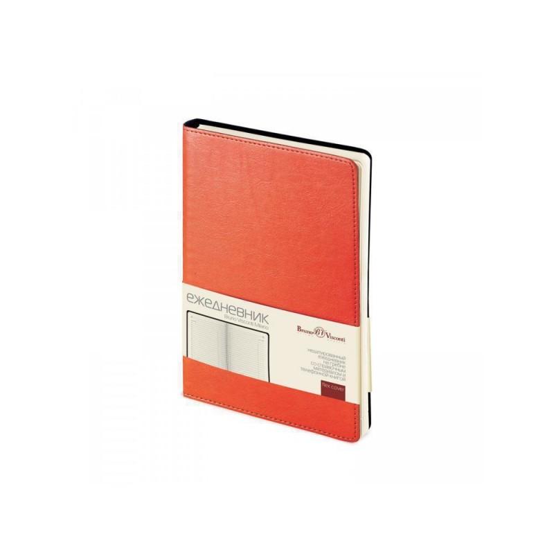 Ежедневник А5 недатированный «Milano» оранжевый