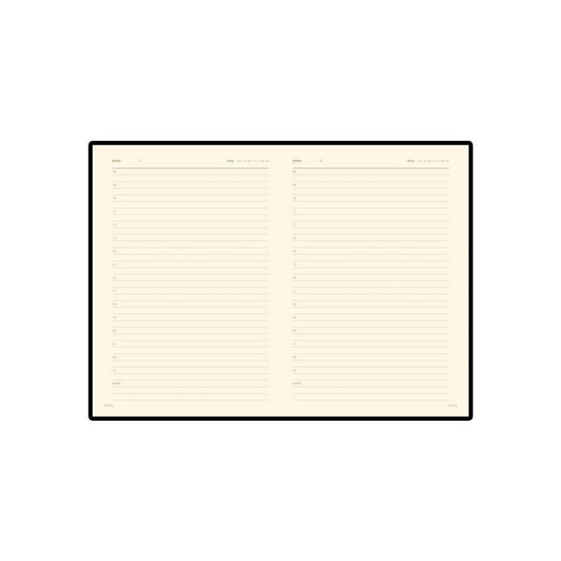 Ежедневник недатированный А5 'Parliament' красный