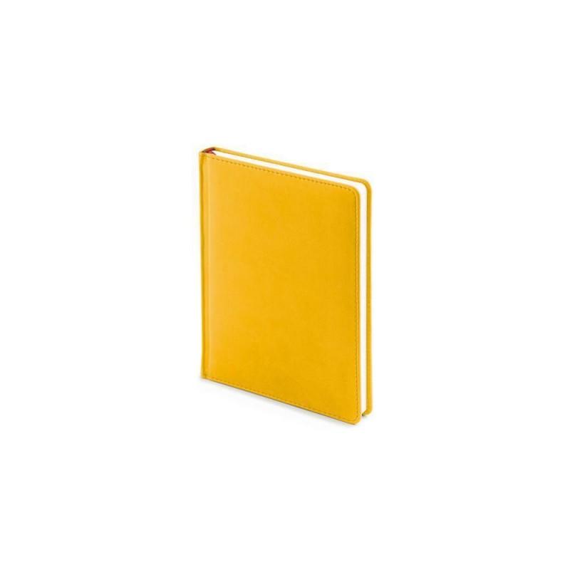 Ежедневник недатированный А6+ «Velvet» желтый охра