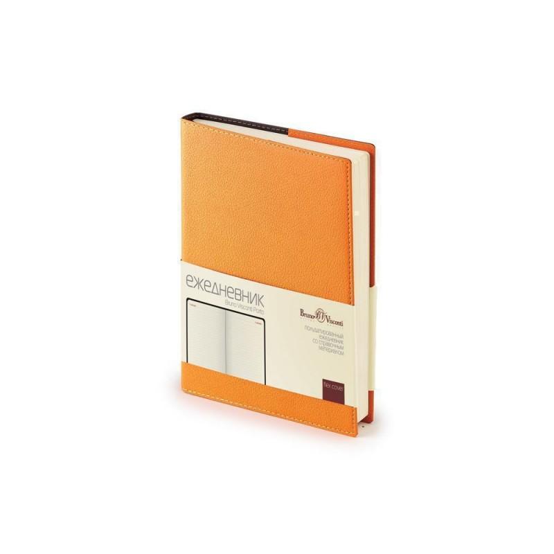 Ежедневник А5 полудатированный «Porto» оранжевый