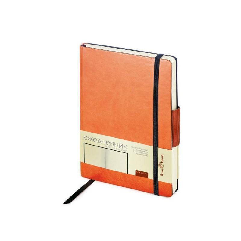 Ежедневник А5 недатированный «Zenith» оранжевый