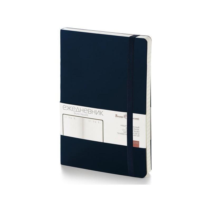 Ежедневник недатированный А5 'Vincent' темно-синий