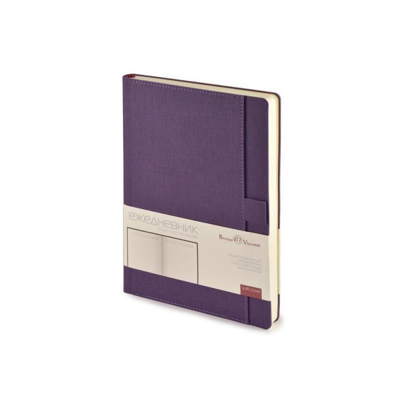 Ежедневник недатированный А5 'Marseille' фиолетовый