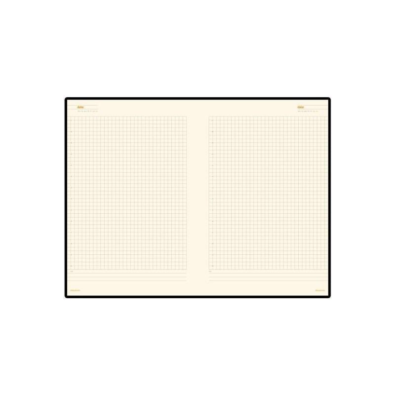 Ежедневник недатированный А5 «Glossy Pro» оранжевый